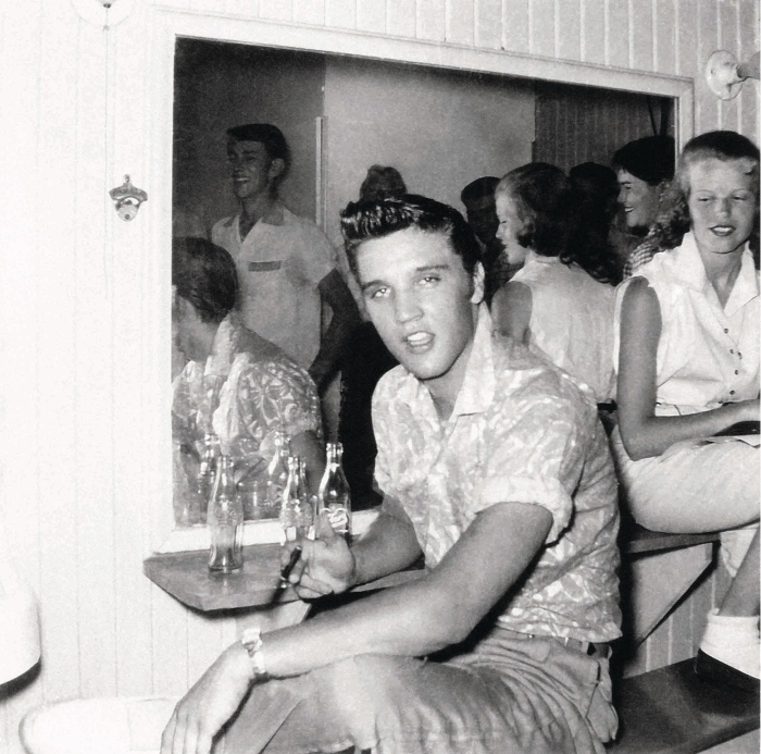Elvis Presley Jan 25 1955