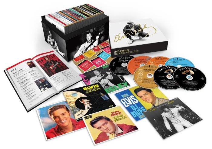 Elvis Presley 60 CD box set
