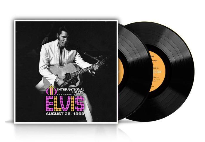 Elvis Presley 1969 Live Vegas vinyl