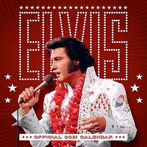 2021 Elvis Aloha calendar